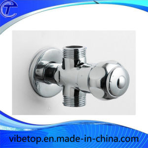 Brass Chromed Plated Sanitary Angle Valve (BT-06) pictures & photos