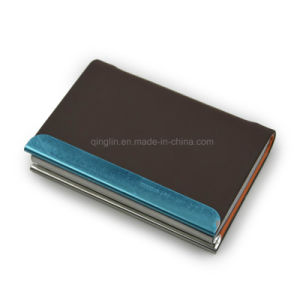 Promotional Custom Metal Name Card Case Business Card Holder pictures & photos