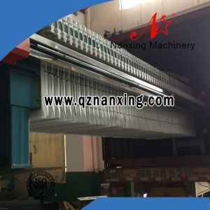 Textile Sewage Treatment Hydraulic Plate Filter Press pictures & photos