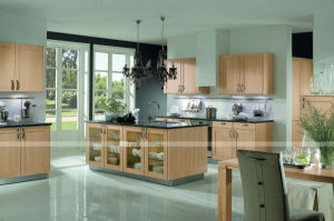 High Gloss Customized Kitchen Cabinet PVC Kitchen Cabinet pictures & photos