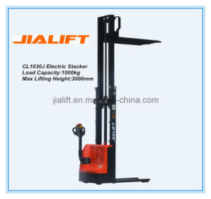 Good Quality China Hot Sale Electric Stacker Cl1030j with Ce ISO9001 pictures & photos