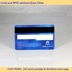 Credit Card Size Magnetic Stripe Card for PVC Plastic Gift Card pictures & photos