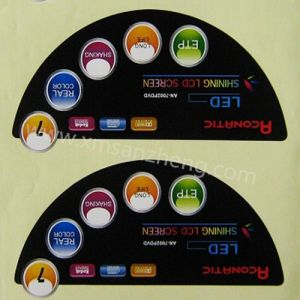 Glossy Heat Resistant UL Certified Self Adhesive Lamination Sign Stickers pictures & photos
