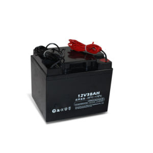 Solar Battery 12V 38ah Best Power Storage pictures & photos