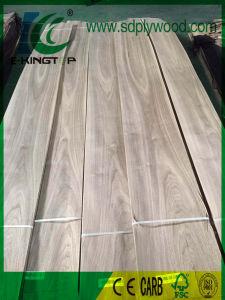 Natural Wood Veneer Black Walnut Crown Cut pictures & photos