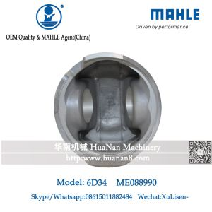 Mahle 6D34t 6D34 Me088990 Piston for Sk230-6 Excavator pictures & photos