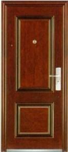 Commercial Buildings Exterior Security Steel Door (steel door) pictures & photos
