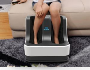 Electric Kneading Leg Foot Thigh Massager with Heat pictures & photos