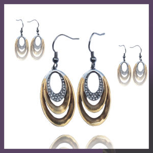 Luxurious Jewelry Designs Teardrop Pendant Earring for Party Engagement pictures & photos