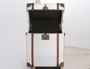 Aviator Trunk, Box, Cabinet, Antique Aluminum Side Table, Corner Table Rtk-07 pictures & photos
