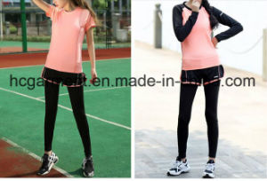 Quickly Dry Running Clothing Suit for Women/Lady, Sports Wear pictures & photos