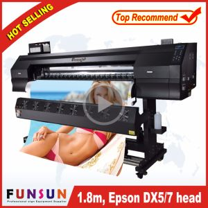 Best Price Funsunjet Fs-1802g 1.8m/6FT Outdoor Wide Format Printer with Two Dx5 Heads 1440dpi for Flex Banners Printing pictures & photos