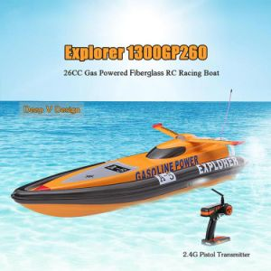 225gl006ap-Original Explorer 1300gp260 Fs-Gt2 2.4G Transmitter High Speed 50km-H 26cc Gas Powered RC Racing Boat pictures & photos