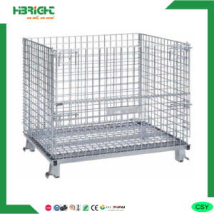 Storage Wire Grid Mesh Container pictures & photos