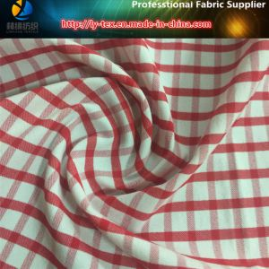 Red Gingham Nylon Stretch Yarn Dyed Check Shirt Fabric (YD1166) pictures & photos
