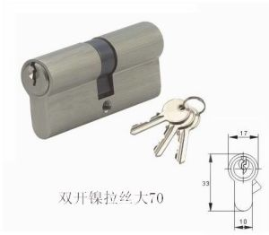High Security Double Pins Groove Key Lock Cylinder (C3360-161CP-291CP) pictures & photos