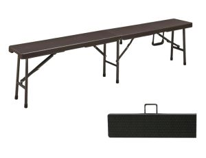 6FT Folding Bench with Rattan Design pictures & photos