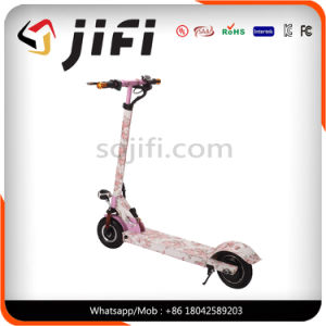 8 Inches Two Wheels Kick Electric Scooter with LCD Screen pictures & photos