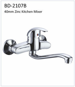 Bd2107b 40mm Zinc Wall Mounted Kitchen Faucet pictures & photos