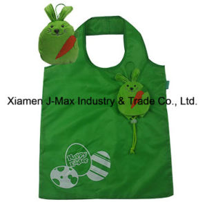 Foldable Shopper Bag, Face Style, Reusable, Promotion, Lightweight, Tote Bag pictures & photos