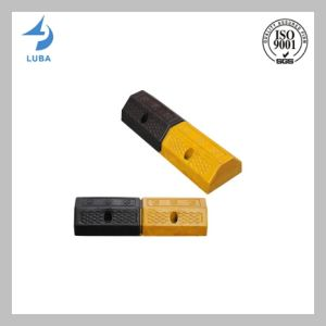 Black & Yellow Color Rubber Parking Blocks pictures & photos