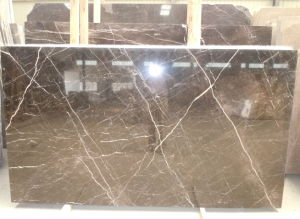 China Brown Marble Tiles/Slabs for Flooring/Wall Tiles/Countertops pictures & photos