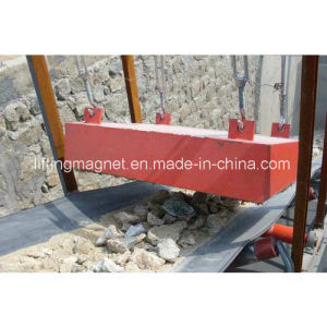 Permanent Type Rectangular Magnetic Separator for Conveyor Belt pictures & photos