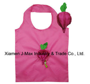 Foldable Shopper Bag, Fruits Cherry Radish Style, Reusable, Lightweight, Grocery Bags and Handy, Gifts, Promotion, Accessories & Decoration pictures & photos