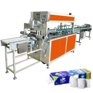 Middle Bag Toilet Roll Packing Tissue Paper Bundle Baler Machine pictures & photos
