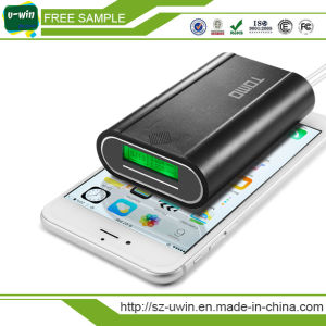 Tomo V8-3 Smart 18650 Portable Power Bank with Double Output and LCD Display pictures & photos