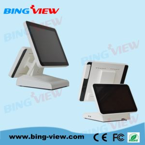 "Compact 15"" Resistive Point of Sales/POS Touch Screen Monitor with USB/RS232 pictures & photos"