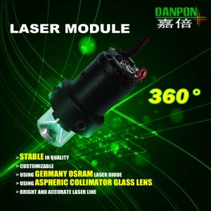 Supplying 360° Laser Green Line Module for Industrial Application pictures & photos
