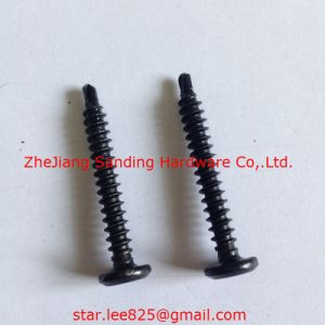 Pan Head Harden Black Zinc Plated Self Drilling Screw pictures & photos