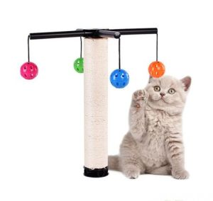 Pet Product Cat Sisal Toy with Bells (KB2001) pictures & photos