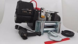 Heavy Duty Electric Winch with Wireless Remote Control Kit (17000LB) pictures & photos