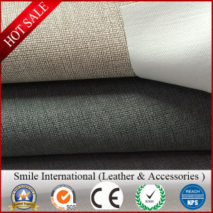 Fabric Leather PVC Leather High Quality Cheap Price for Sofa and Chair Synthetic Leather New Design pictures & photos