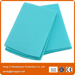 Non-Woven Fabric Green Cloth, Kitchen Cleaning Cloth pictures & photos