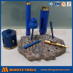 High Speed Brazed Diamond Dry Core Bits pictures & photos