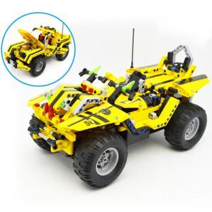 57351003W-2 in 1 RC Pickup Truck Building Blocks Kits 2.4G Car Model DIY Toys pictures & photos
