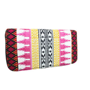 Fashion Printed and Embroidered Fabric Wallet pictures & photos