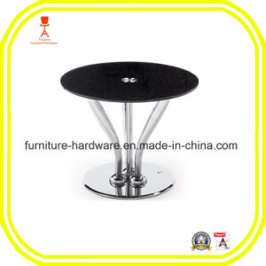 Furniture Hardware Parts Restaurant Stool Table Round Base with 3 Legs Aluminum pictures & photos