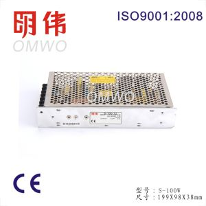 S-100-12 100W AC to DC Single Output Switching Power Supply (S-100-12) 12V 8.5A pictures & photos