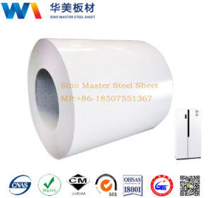 Dishwasher/Refrigerator/Washing Machine Household Appliance Body Material Prepainted PCM Steel Sheet pictures & photos