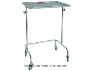 Sjt022 Tray Stand with Two Posts (which can be raised and lowered)