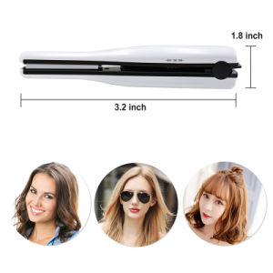 Mini Cordless Rechargeable USB Hair Straightener pictures & photos