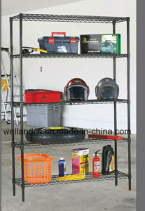 Metal Wire Garage Shelving Rack 800lbs Per Shelf (CJ753590A3E) pictures & photos