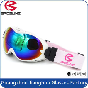 Customized Dual Lens Flexible Frame Snowboard Ski Goggles / Mens Ski Goggles pictures & photos