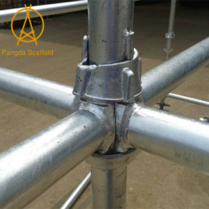 Cup Lock System Cuplock Scaffolding for Construction pictures & photos