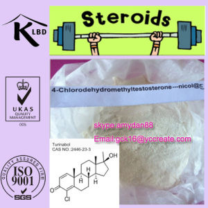 Steroids Raw Powder 4-Chlordehydromethyltestosterone Oral Turinabol 2446-23-3 pictures & photos