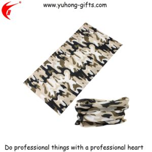 Camouflage Magic Multifunctional Scarf Buff for Promotion (HS006) pictures & photos